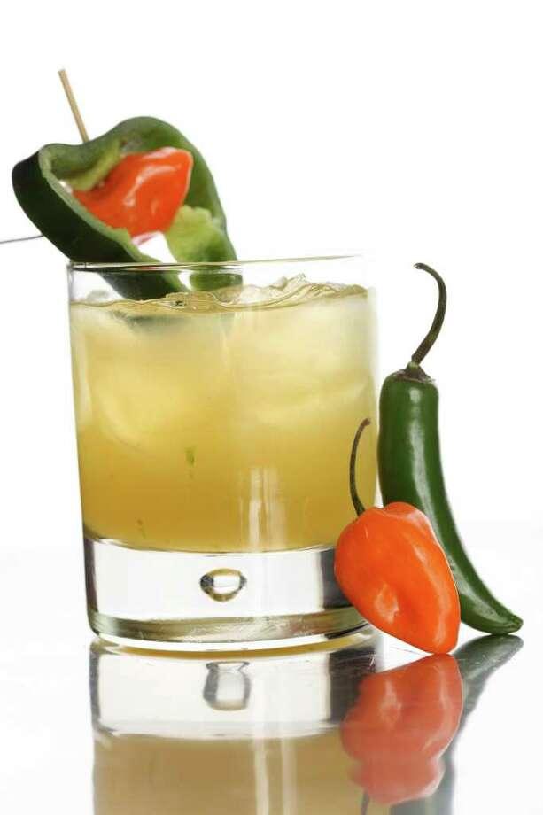 Mango-Habanero Daiquiri mixes sweet and savory flavors.