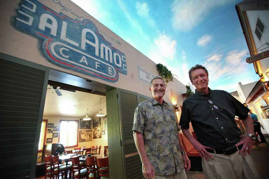 Alamo Cafe: 14250 San Pedro Ave., 210-495-2233, and 10060 I-10 W., 210-691-8827, www.alamocafe.com