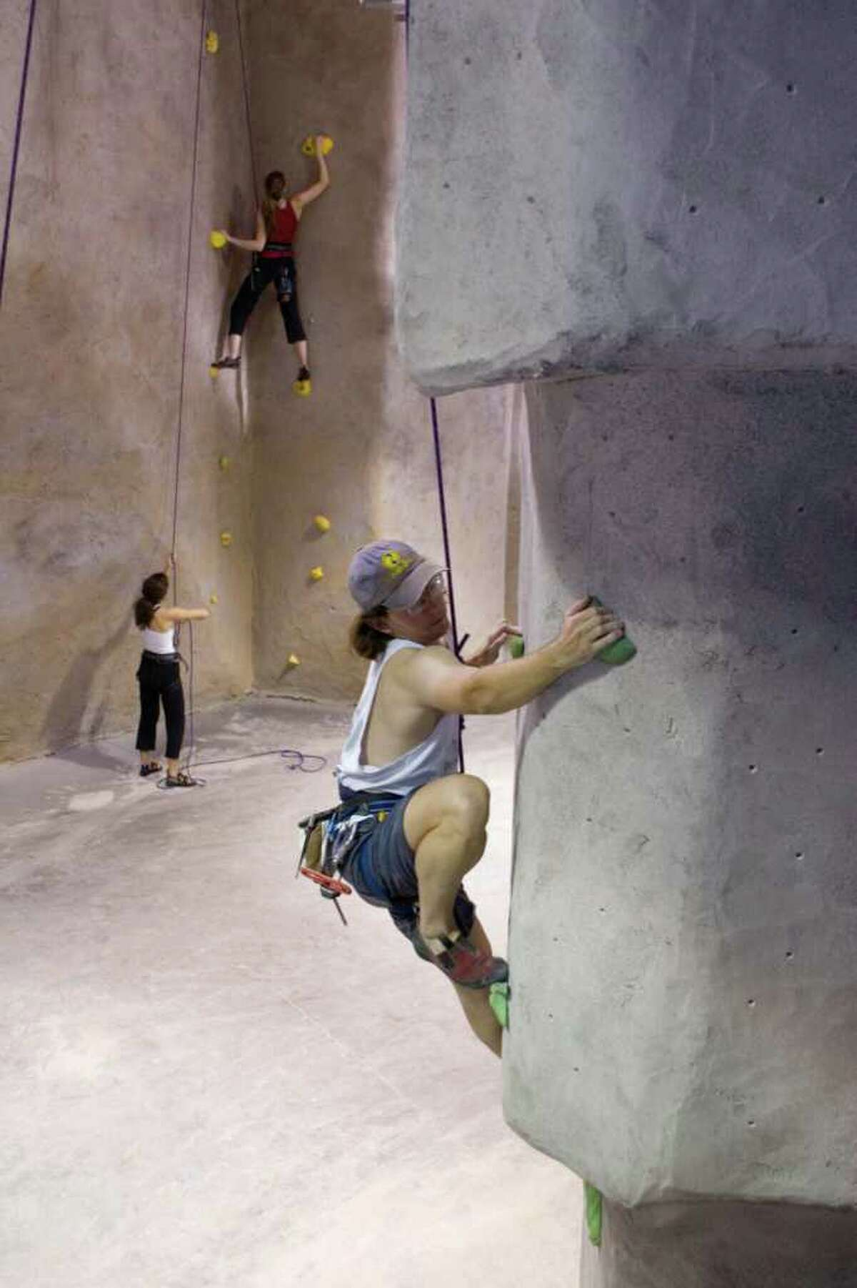 Climb the highest Hone in on your inner monkeying abilities and head out to a local rock climbing gym around Houston. The photo above is from Texas Rock Gym inside the Beltway, but there are many others around town for couples to check out.