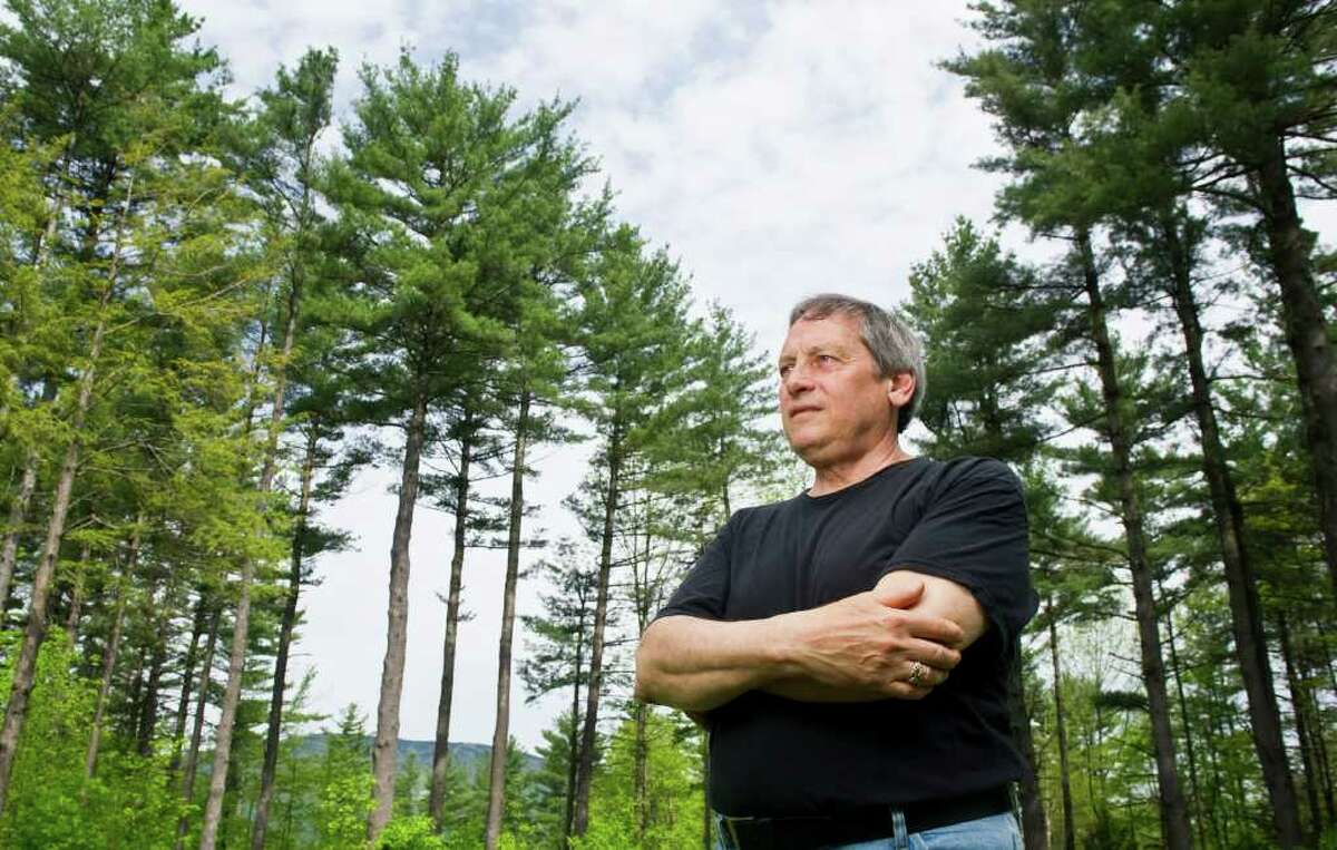 Former Stamford Mayor Thom Serrani photographed at his home in Ludlow, Vermont, May 25, 2011. Serrani served as the city's mayor for four terms but left city government in 1991 after a fierce battle with Stamford's Board of Ethics.