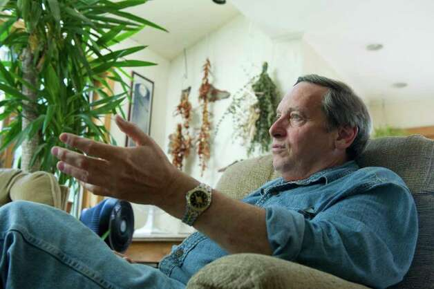 Former Stamford Mayor Thom Serrani photographed at his home in Ludlow, Vermont, May 25, 2011. Serrani served as the city's mayor for four terms but left city government in 1991 after a fierce battle with Stamford's Board of Ethics. Photo: Keelin Daly / Stamford Advocate