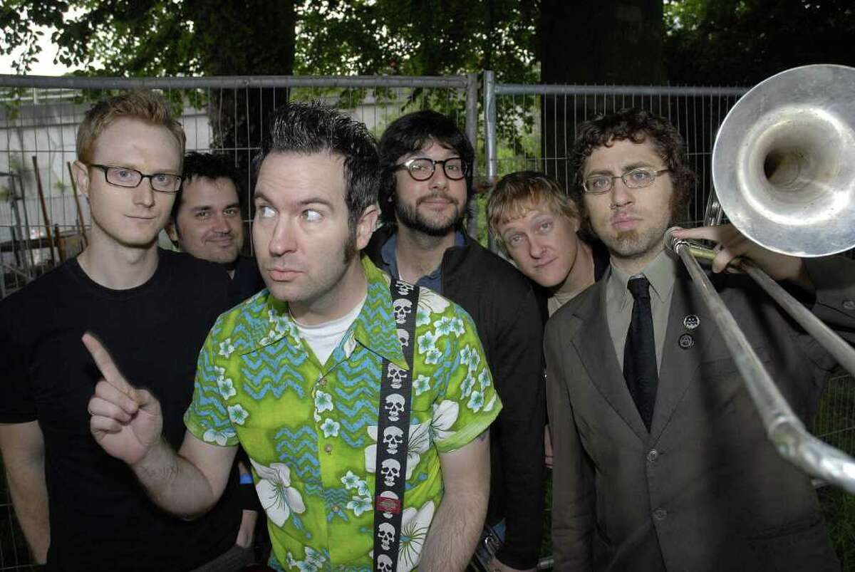 Reel Big Fish, American ska-rock band, is back on the tour bus. The act is performed in Houston at the House of Blues along with fellow '90s legend Less Than Jake on Feb. 8.