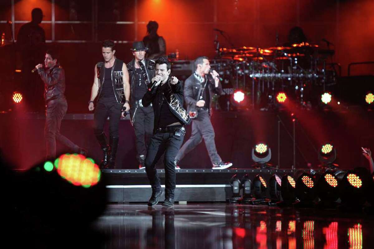 New Kids on the Block perform on June 28, 2011, at the AT&T Center.