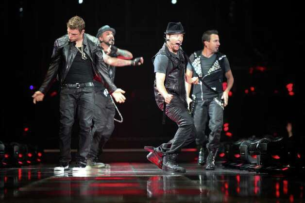 The Backstreet Boys perform at the AT&T Center on June 28, 2011. Photo: Andrew Buckley / Abuckley@express-news.net / Copyright: Andrew Buckley
