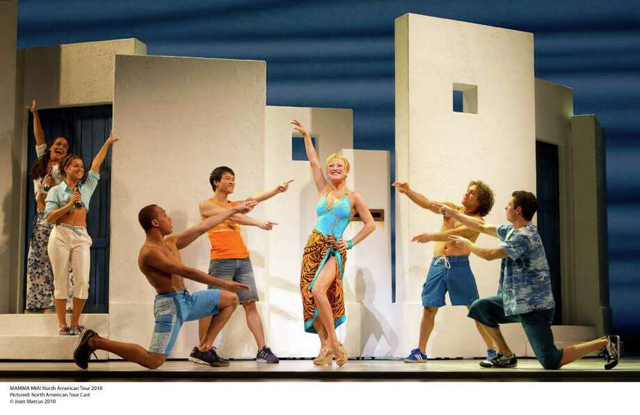 MAMMA MIA! North American Tour 2010Pictured: North American Tour Cast (Joan Marcus) / ©2010, Joan Marcus