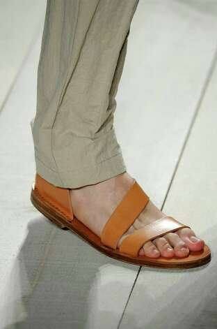Michael Kors simple leather flats for Summer 2011