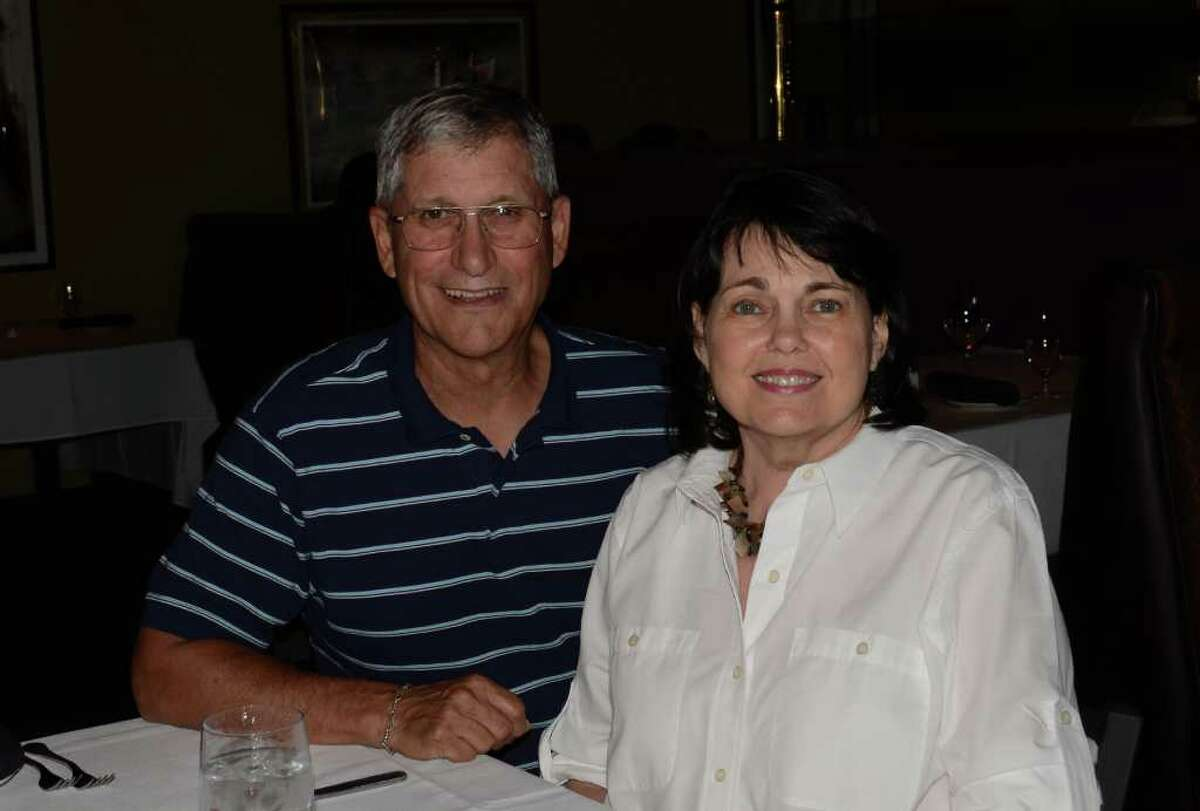 Don and Vicki Hester take a break from the work week to wine and dine at Frederick's Bistro. ROBIN JOHNSON / SPECIAL TO THE EXPRESS-NEWS