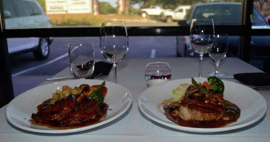 Frederick's Bistro,14439 NW Military Highway, Suite 100, 210-888-1500, and Frederick's Restaurant, 7701 Broadway, Suite 20, 210-828-9050, is offering a special four-course Valentine's dinner. Photo: Robin Johnson