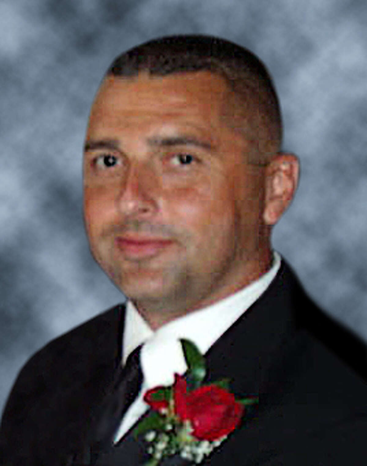 Bridgeport Fire Department Lt. Steven Velasquez. Velasquez died while fighting a fire at 41 Elmwood Ave on Saturday, July 24, 2010.