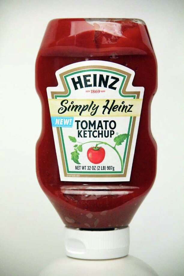 """Simply Heinz"" ketchup by Heinz tomato ketchup shot at the Times Union photo studio in Latham on Monday, June 20, 2011. (Erin Colligan / Special To The Times Union)"