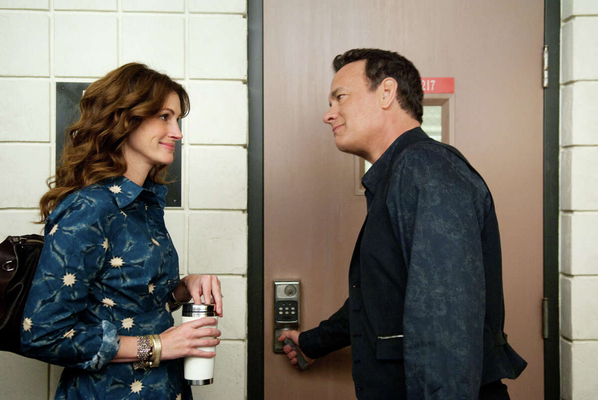 Julia Roberts plays a professor at a community college and Tom Hanks portrays the title character in