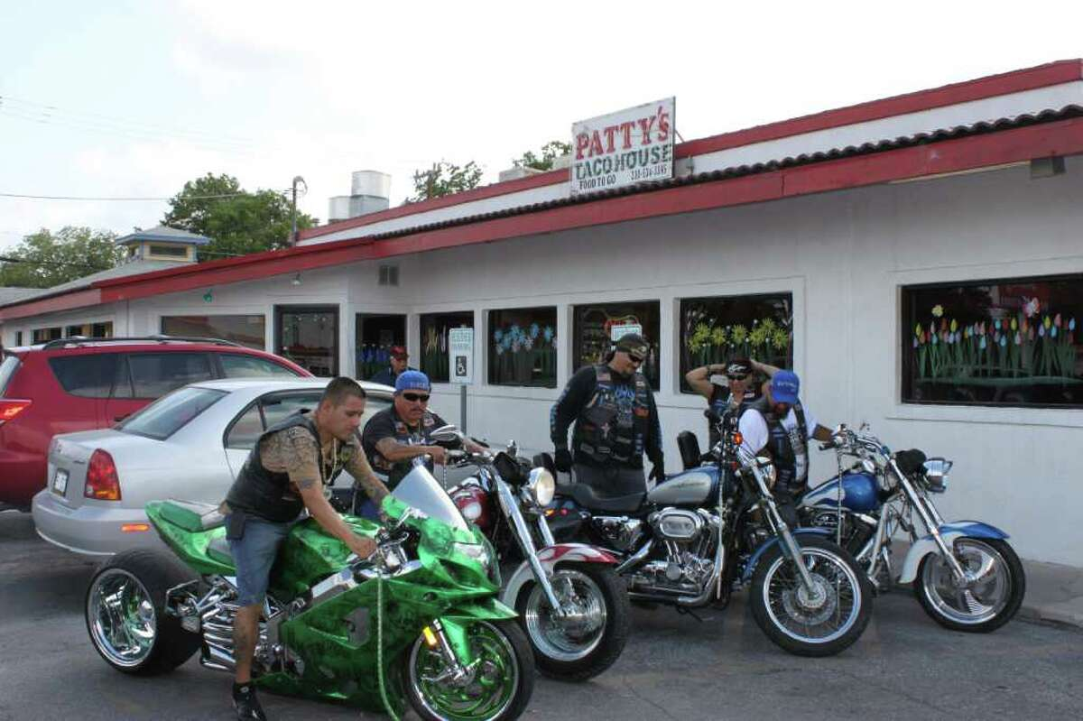 Members of various local motorcycle clubs met at Patty's Taco House to kick-off fundraising efforts for Christus Santa Rosa Children's Hospital.
