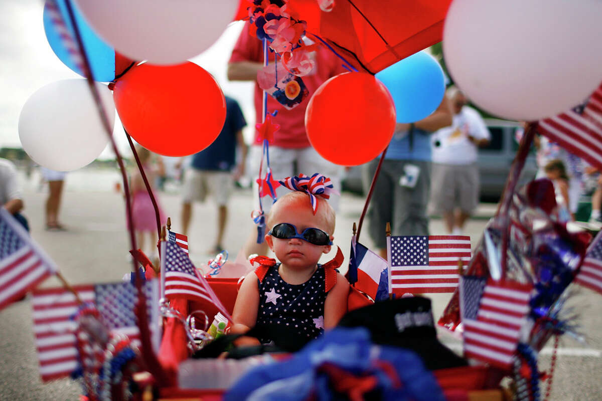 The annual Salute to the Red, White and Blue parade will kick off the City of San Antonio's official Fourth of July Celebration. EXPRESS-NEWS FILE PHOTO