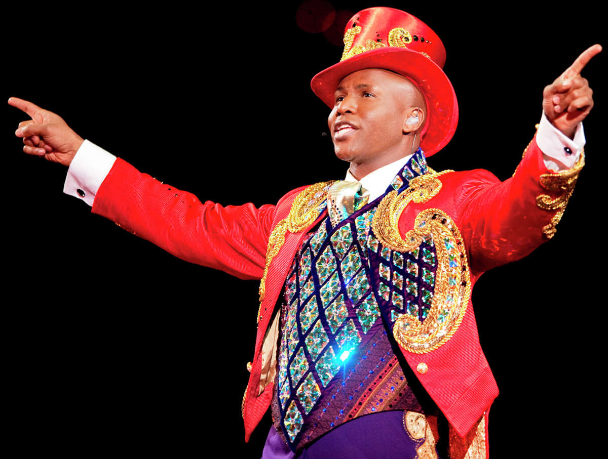 Jonathan Lee Iverson is ringmaster of
