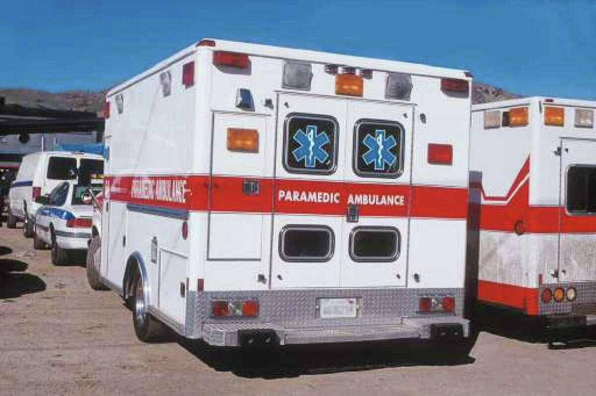 Teen hospitalized after getting struck by vehicle.