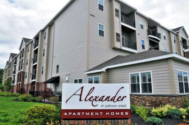 The Alexander apartment complex in Albany Wednesday June 29, 2011.   (John Carl D'Annibale / Times Union) Photo: John Carl D'Annibale