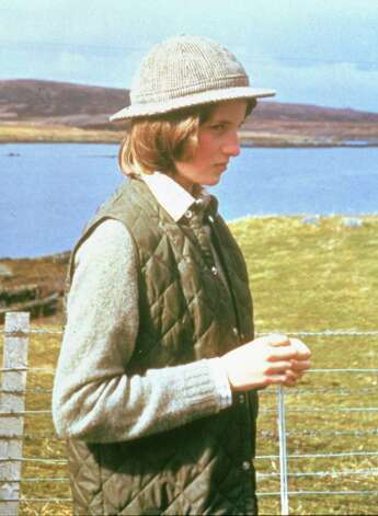 Lady Diana Spencer,  is shown in a family album picture on the Isle of Uist in the Western Isles, Scotland, in 1974. (AP Photo/HO) Photo: Anonymous, HO