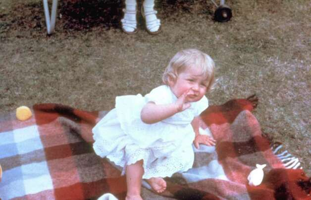 Diana Spencer is shown in an undated family album photo at Park House, Sandringham, Norfolk, when she was a toddler. (AP Photo/HO) Photo: Anonymous, HO