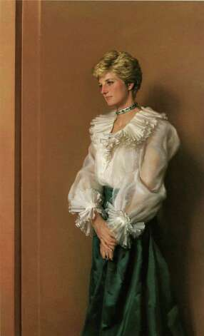 Official Portrait of H.R.H. The Princess of Wales, 1994, by Nelson Shanks. (AP Photo/Bob Olender) Photo: BOB OLENDER, STR / AP1997
