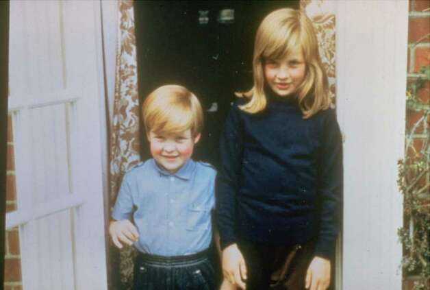 Family album picture of Lady Diana Spencer in Berkshire in 1968, with her brother Charles Edward, Viscount Althorpe, a former Page of Honor to the Queen.  (AP Photo) Photo: Anonymous, HO