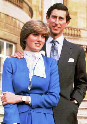This is a Feb. 24, 1981 file photo of Britain's Prince Charles and the then-Lady Diana Spencer on the grounds of Buckingham Palace after announcing their engagement. (AP Photo/Ron Bell/Pool) Photo: RON BELL, POOL