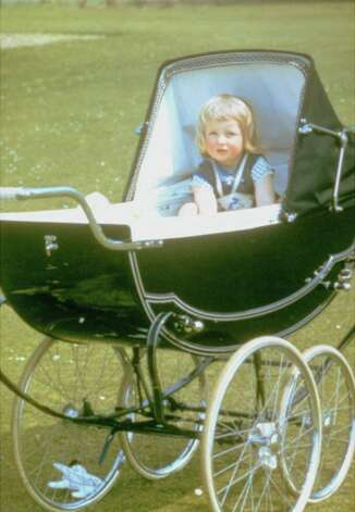 Family album picture of Lady Diana Spencer in her baby carriage at Park House, Sandringham, Norfolk in 1962.  (AP Photo/ho) Photo: Anonymous, HO