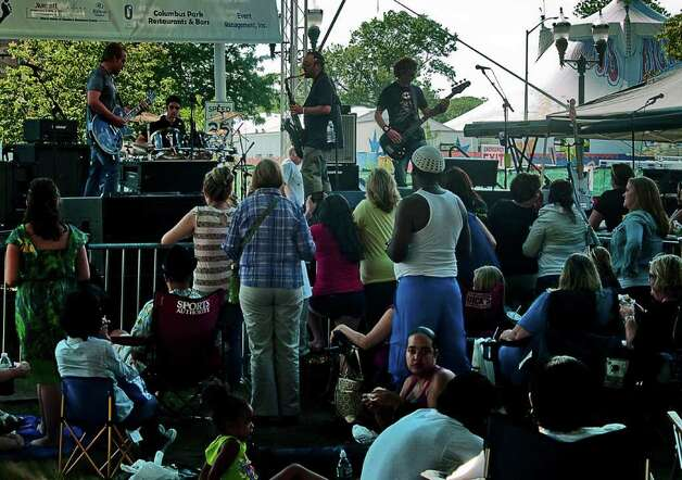 Stamford's Alive @ 5 concert on June 30 was headlined by American Idol's Lee DeWyze. Photo: Mike Macklem / Hearst Connecticut Media Group