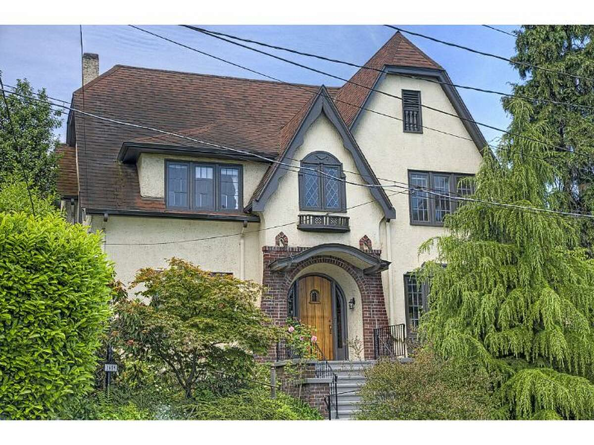 This 1926 Tudor home is on the market for the first time in 50 years. The house, at 1609 22nd Ave. E., in Capitol Hill, features scads of exposed wood moldings and built-ins, old-school chandeliers, radiators and an elevator. The house is 2,800 square feet, with four bedrooms and 2.25 bathrooms, sits on a 3,948-square-foot lot and is listed for $820,000. (Listing: www.windermere.com/index.cfm?fuseaction=listing.PP3ListingDetail&ListingID=130321793)