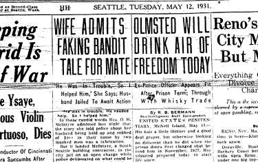 Today in history: 'King of Puget Sound Bootleggers' arrested