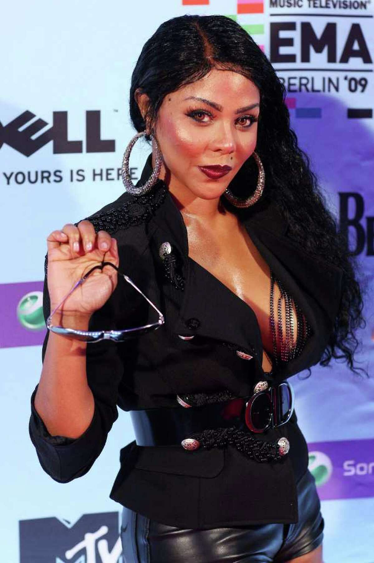 Singer Lil' Kim, seen here attending the 2009 MTV Europe Music Awards, was spotted having lunch at Siena Ristorante in Stamford Tuesday with pop singer Angelica Salem, a Stamford resident. (Photo by Dave Hogan/Getty Images)