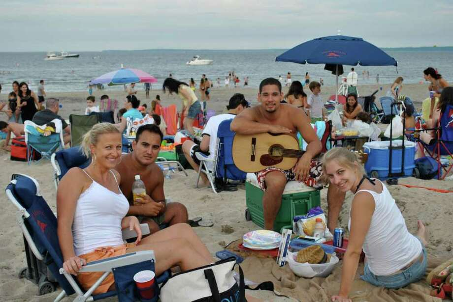 Greenwich held their Independence Day Fireworks on July 2, 2011 at Greenwich Point Park. Photo: Lauren Stevens/Hearst Connecticut Media Group