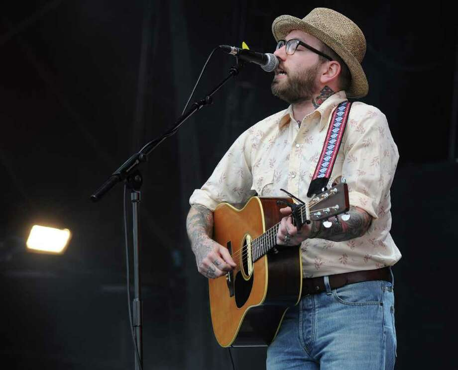 PADDOCK WOOD, UNITED KINGDOM - JULY 01: Dallas Green of American band 'City And Colour' performs at Hop Farm festival at The Hop Farm on July 1, 2011 in Paddock Wood, England. Photo: Stuart Wilson, Getty Images / 2011 Getty Images