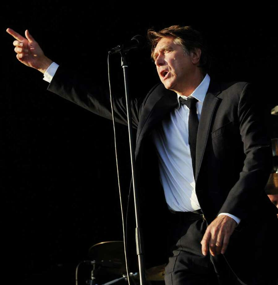 PADDOCK WOOD, UNITED KINGDOM - JULY 01: Brian Ferry performs at the Hop Farm festival at The Hop Farm on July 1, 2011 in Paddock Wood, England. Photo: Stuart Wilson, Getty Images / 2011 Getty Images