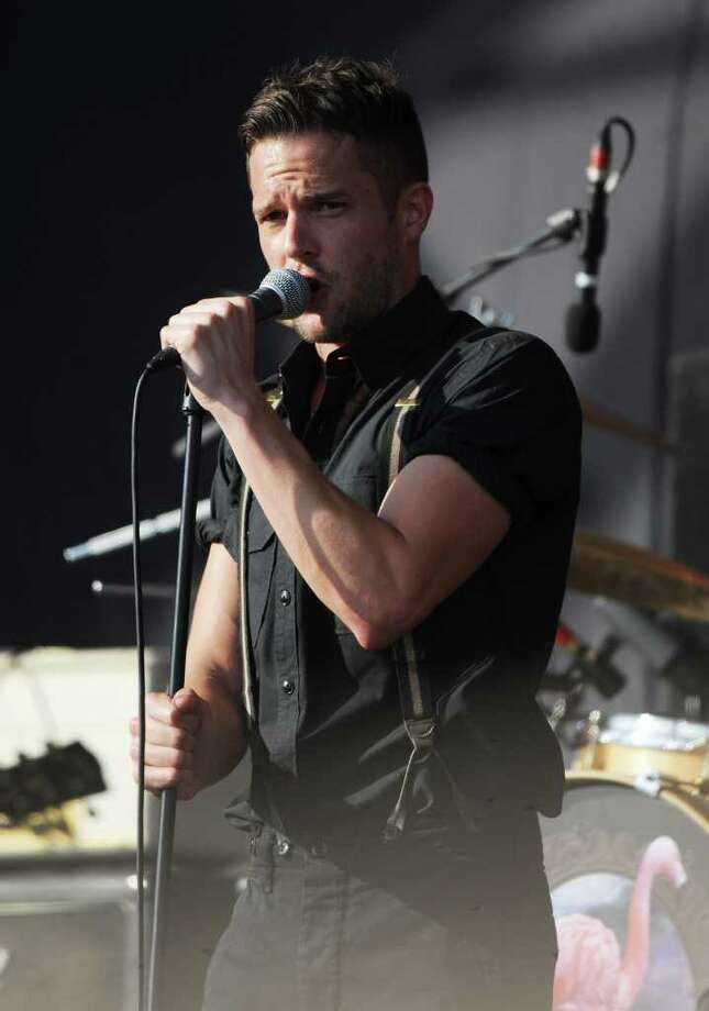PADDOCK WOOD, UNITED KINGDOM - JULY 01: Brandon Flowers performs at the Hop Farm festival at The Hop Farm on July 1, 2011 in Paddock Wood, England. Photo: Stuart Wilson, Getty Images / 2011 Getty Images