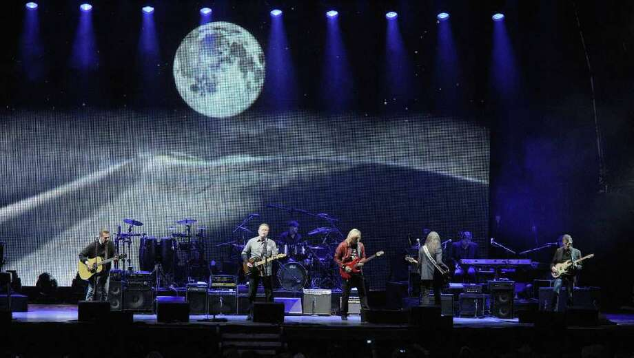 PADDOCK WOOD, UNITED KINGDOM - JULY 01: Glen Frey, Don Henley, Joe Walsh and Timothy Schmidt from rock band 'The Eagles' performs at Hop Farm festival at The Hop Farm on July 1, 2011 in Paddock Wood, England. Photo: Stuart Wilson, Getty Images / 2011 Getty Images
