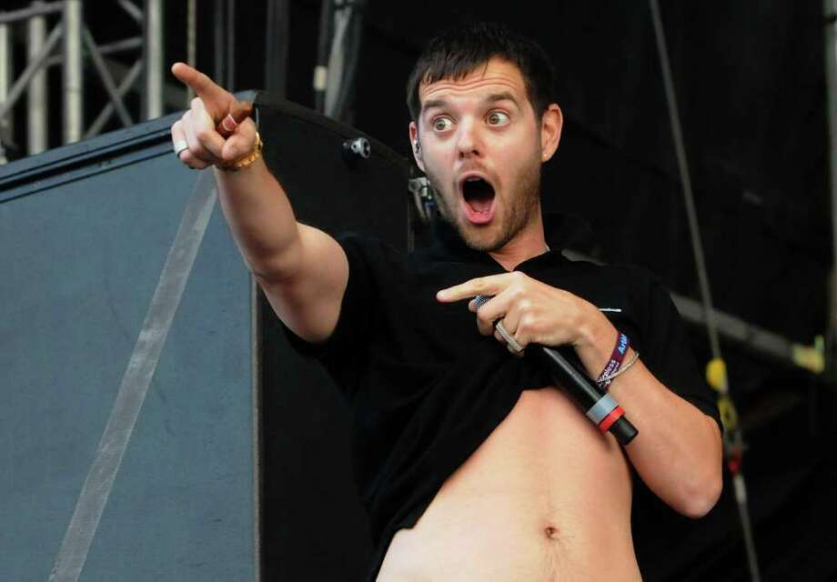 LONDON, ENGLAND - JULY 02:  Mike Skinner of The Streets performs live on stage during the second day of the Wireless Festival at Hyde Park on July 2, 2011 in London, England. Photo: Jim Dyson, Getty Images / 2011 Getty Images