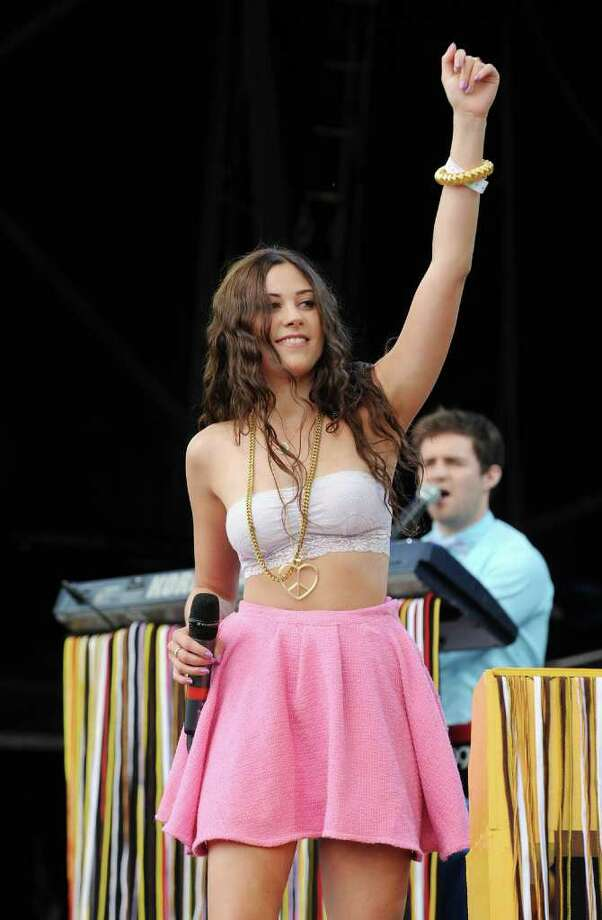 PADDOCK WOOD, UNITED KINGDOM - JULY 03: Eliza Doolittle performs at the Hop Farm festival at The Hop Farm on July 3, 2011 in Paddock Wood, England. Photo: Stuart Wilson, Getty Images / 2011 Getty Images