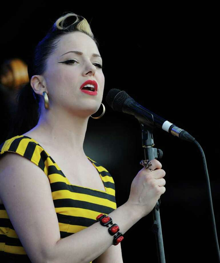 PADDOCK WOOD, UNITED KINGDOM - JULY 03: Imelda May performs at the Hop Farm festival at The Hop Farm on July 3, 2011 in Paddock Wood, England. Photo: Stuart Wilson, Getty Images / 2011 Getty Images