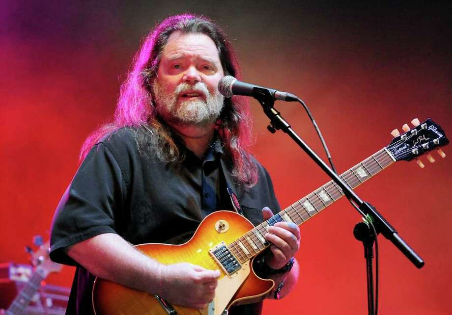 LONDON, ENGLAND - JULY 03:  Roky Erickson performs live on stage during the third day of the Wireless Festival at Hyde Park on July 3, 2011 in London, England. Photo: Jim Dyson, Getty Images / 2011 Getty Images