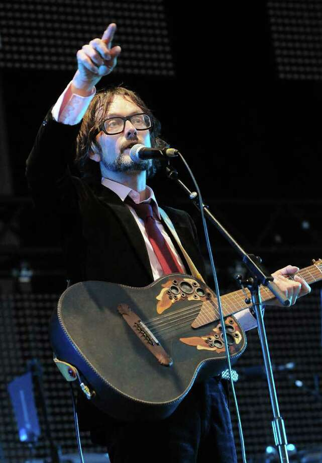 LONDON, ENGLAND - JULY 03:  Jarvis Cocker of Pulp performs live on stage during the third day of the Wireless Festival at Hyde Park on July 3, 2011 in London, England. Photo: Jim Dyson, Getty Images / 2011 Getty Images