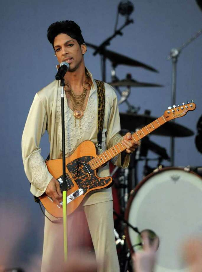 PADDOCK WOOD, UNITED KINGDOM - JULY 03: Prince performs at the Hop Farm Festival at The Hop Farm on July 3, 2011 in Paddock Wood, England. Photo: Stuart Wilson, Getty Images / 2011 Getty Images