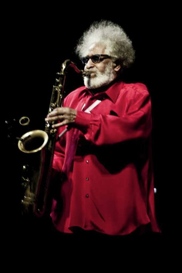 American jazz tenor saxophonist Sonny Rollins during a performance at the Copenhagen Jazz Festival at The Royal Danish Theatre in Copenhagen on Sunday, July 3, 2011. (AP Photo/Polfoto, Helle Arensbak)  DENMARK OUT Photo: HELLE ARENSBAK, AP / POLFOTO