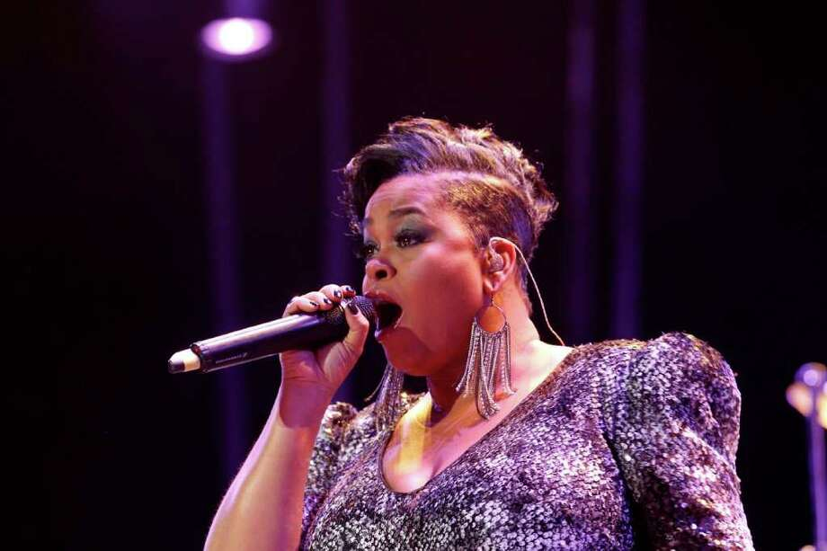 Jill Scott performs at the 2011 Essence Music Festival in New Orleans, Saturday, July 2, 2011. Photo: AP