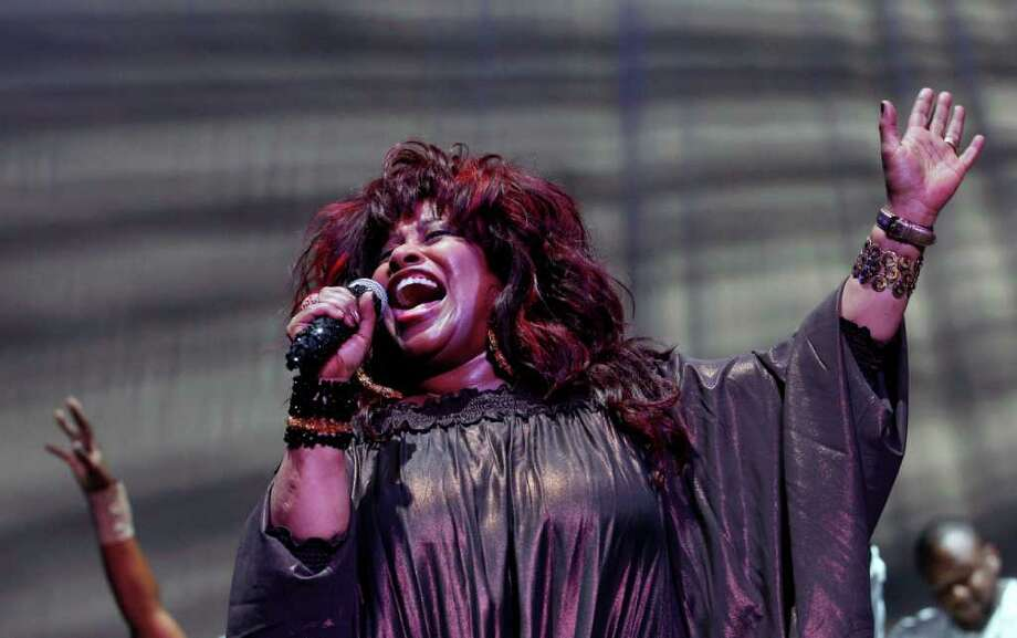 Chaka Khan performs at the 2011 Essence Music Festival in New Orleans, Saturday, July 2, 2011. Photo: AP