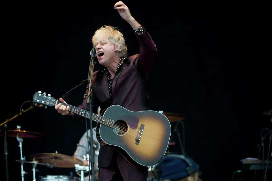 British singer Bob Geldof performs at the Fantasia scene at the Peace and Love festival in Borlange, Sweden Saturday July 2, 2011. (AP Photo/Scanpix, Fredrik Sandberg)     SWEDEN OUT Photo: FREDRIK SANDBERG, ASSOCIATED PRESS / AP2011