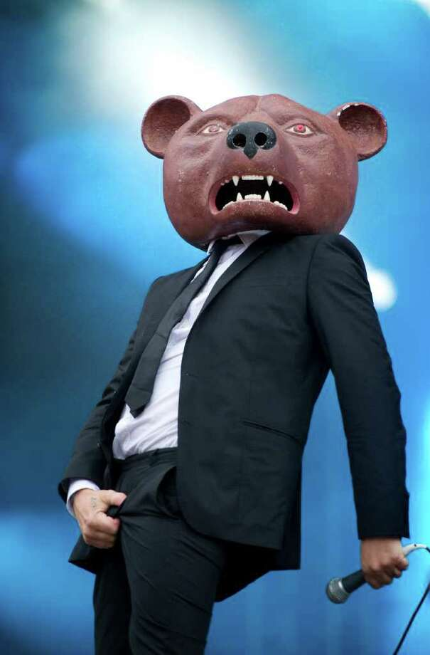 A member of Swedish rock band Teddybears performs at the Peace and Love festival in Borlange, Sweden, late Friday July 1, 2011. (AP Photo / Fredrik Sandberg)   SWEDEN OUT Photo: FREDRIK SANDBERG, AP / SUB