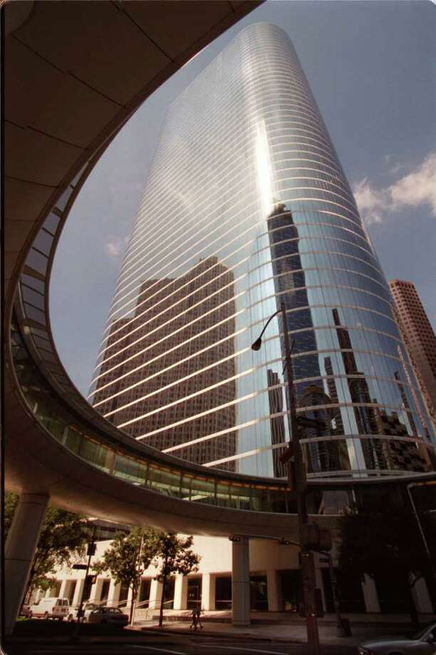 This skyscraper at 1400 Smith in downtown Houston was original built for Enron, but it was eventually bought by Chevron after Enron's collapse. While it might be as modern as some other buildings on this list, its circular walkway offers its own creative touch. Photo: Carlos Antonio Rios, Staff / Houston Chronicle