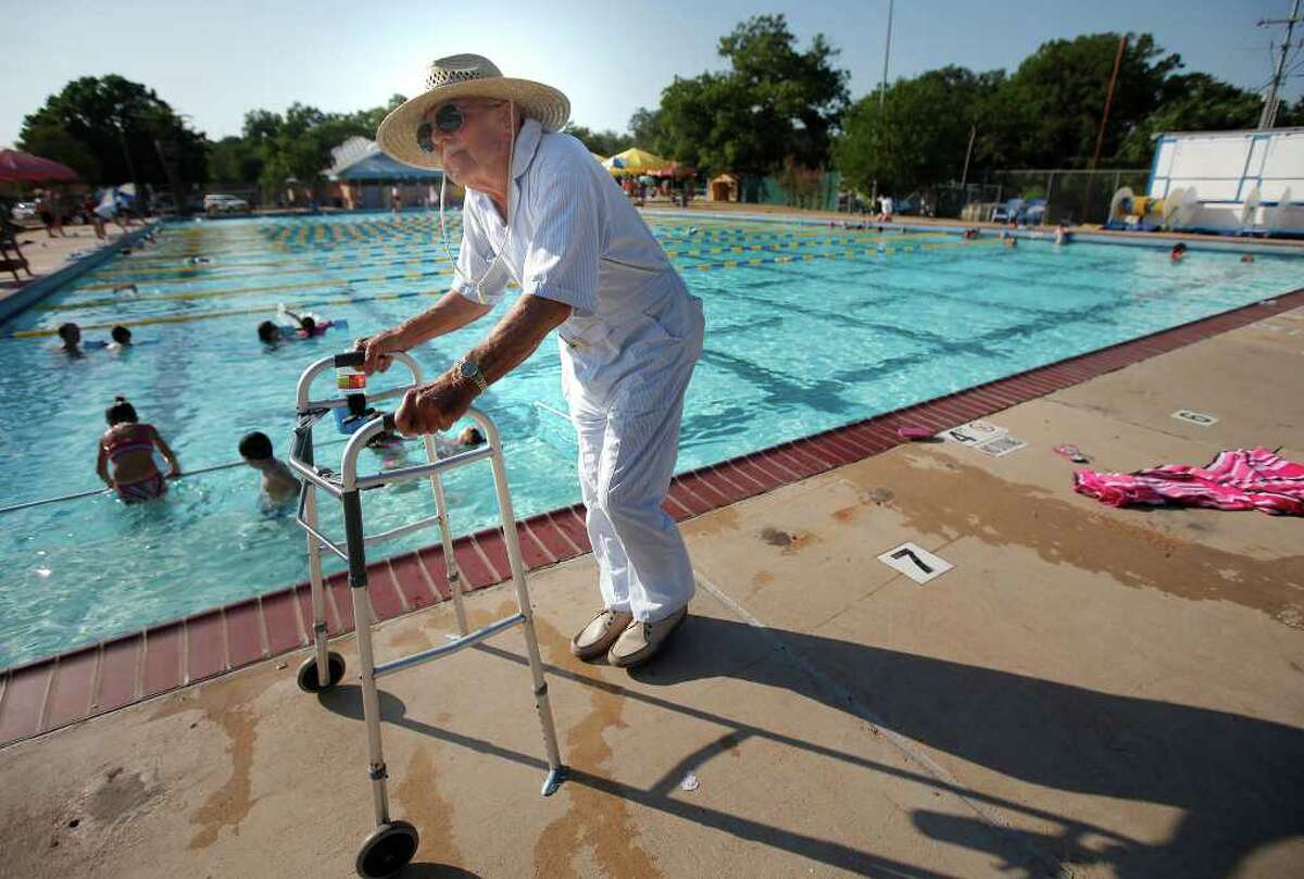 Bud Dallmann has been inducted into the New Braunfels Hall of Honor, the Texas Swimming and Diving Hall of Fame, and the Texas Amateur Athletic Foundation Hall of Fame. The pool at Landa Park is named after him, and he still swims and instructs swimmers there.