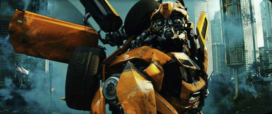 "In this publicity image released by Paramount Pictures, Bumblebee is shown in a scene from ""Transformers: Dark of the Moon."" (AP Photo/Paramount Pictures) Photo: Paramount Pictures"