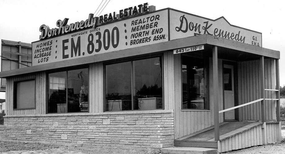 Don Kennedy Real Estate Co. near Northgate Mall at what's now 842 Northeast 110th St. Undated photo. Photo: Seattlepi.com File